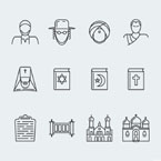 Icon set template 63928 - Buy this design now for only $12