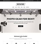Photo Studio WordPress Template