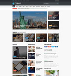 Today's News Joomla Template