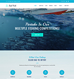 Fishing WordPress Template