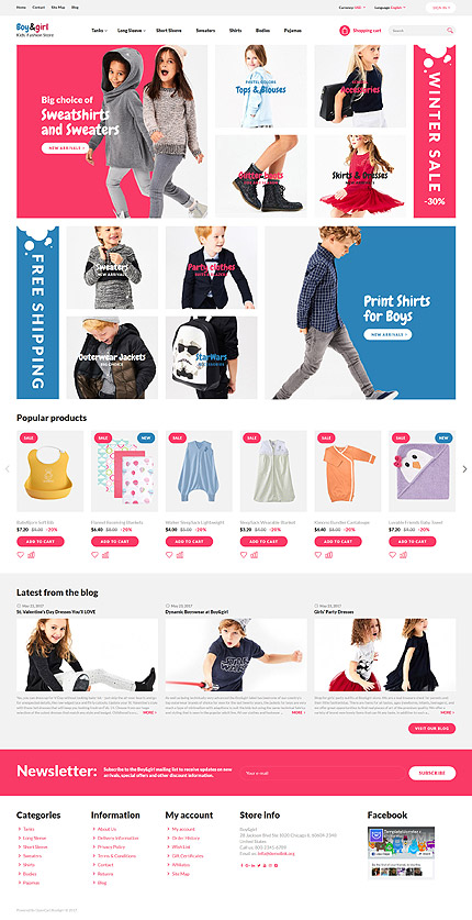 Fashion Most Popular website inspirations at your coffee break? Browse for more OpenCart #templates! // Regular price: $64 // Sources available: .PSD, .PNG, .PHP, .TPL, .JS #Fashion #Most Popular #OpenCart