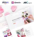 Flower Shop WordPress Template