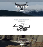 Drone Store OpenCart Template