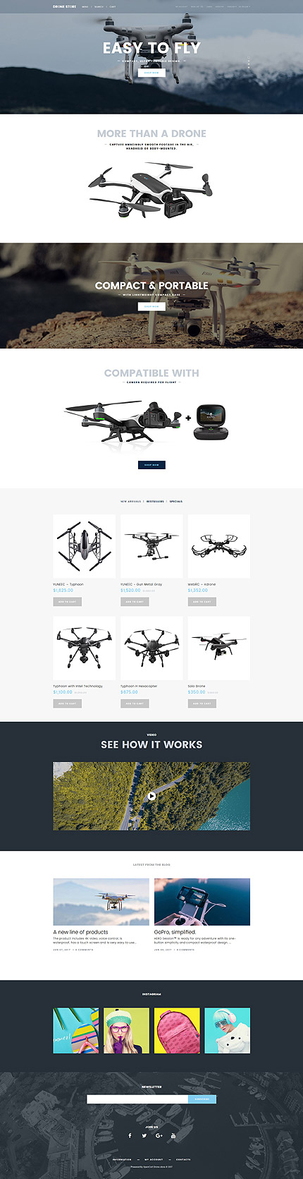 Electronics Most Popular website inspirations at your coffee break? Browse for more OpenCart #templates! // Regular price: $72 // Sources available: .PSD, .PNG, .PHP, .TPL, .JS #Electronics #Most Popular #OpenCart