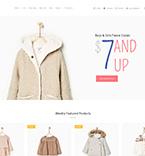 Baby Store WordPress Template