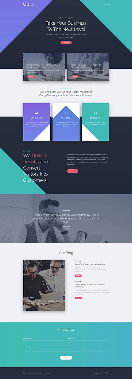 Digital Agency Joomla Template