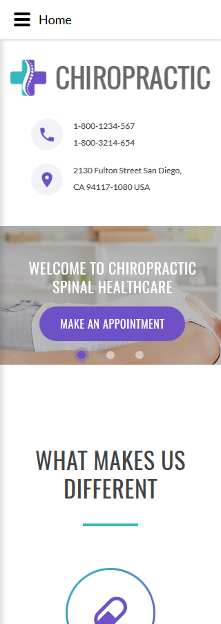 Medical website inspirations at your coffee break? Browse for more Joomla #templates! // Regular price: $65 // Sources available: .PSD, .PHP #Medical #Joomla
