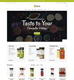 Cooking PrestaShop Template