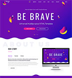 Bootstrap Template #64402