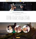 Personal Training Joomla Template