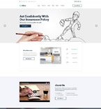 Insurance Company Joomla Template