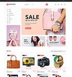 Prestashop template 64477 - Buy this design now for only $139