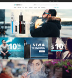 Smoking Store OpenCart Template