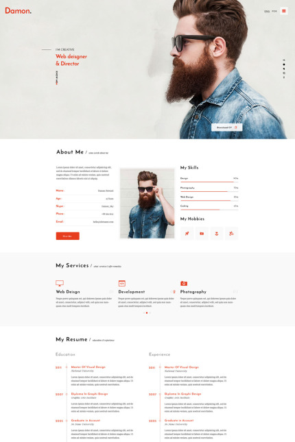 Web Design website inspirations at your coffee break? Browse for more Vendors #templates! // Regular price: $72 // Sources available: #Web Design #Vendors