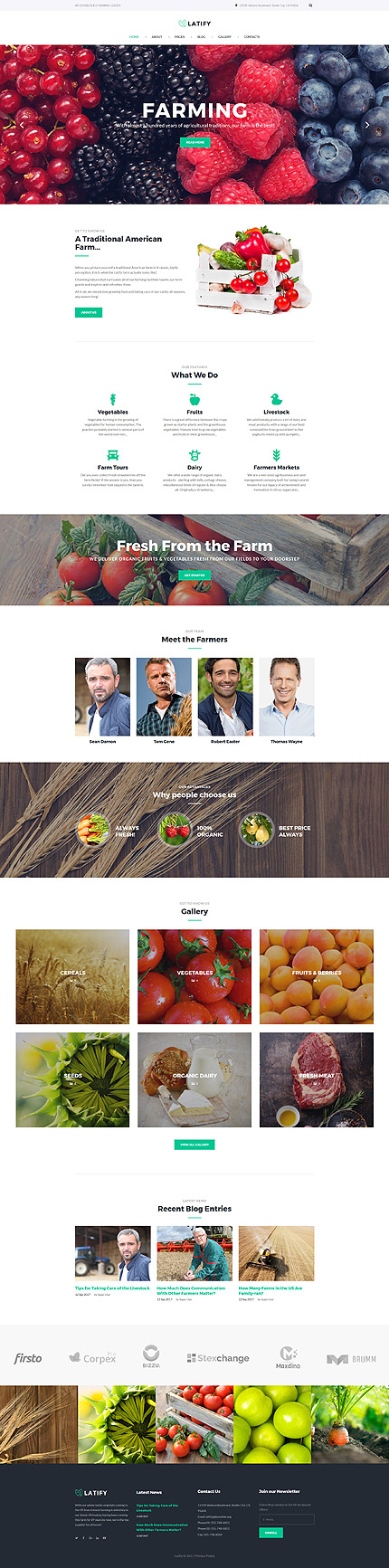 Agriculture Most Popular website inspirations at your coffee break? Browse for more Joomla #templates! // Regular price: $65 // Sources available: .PSD, .PHP #Agriculture #Most Popular #Joomla