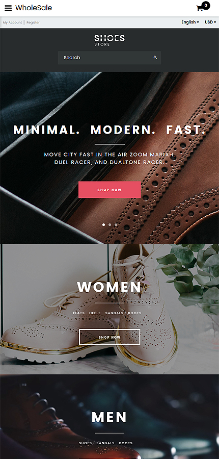 Fashion Most Popular website inspirations at your coffee break? Browse for more OpenCart #templates! // Regular price: $49 // Sources available: .PSD, .PNG, .PHP, .TPL, .JS #Fashion #Most Popular #OpenCart