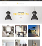 Lighting Store OpenCart Template