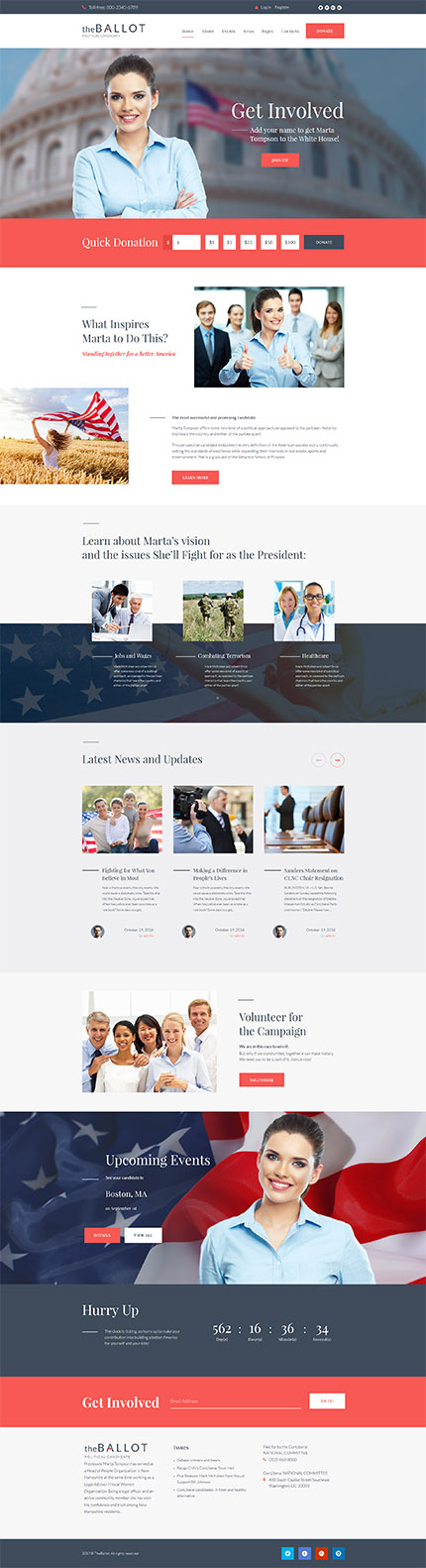 Politics Most Popular website inspirations at your coffee break? Browse for more WordPress #templates! // Regular price: $75 // Sources available:.PHP, This theme is widgetized #Politics #Most Popular #WordPress