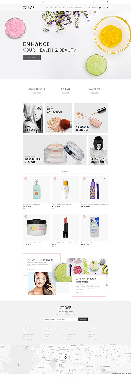 Beauty Most Popular website inspirations at your coffee break? Browse for more OpenCart #templates! // Regular price: $79 // Sources available: .PSD, .PNG, .PHP, .TPL, .JS #Beauty #Most Popular #OpenCart