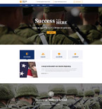 Military School Joomla Template