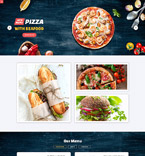 Quick Food - Restaurant Joomla Template