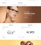 Optometry Store OpenCart Template