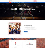 Basketball Club Joomla Template