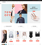 Fashion Clothes Magento Template