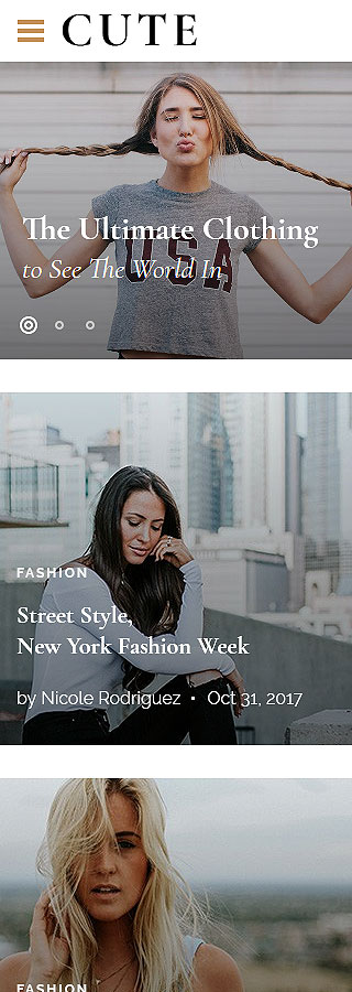 Fashion Most Popular website inspirations at your coffee break? Browse for more Bootstrap #templates! // Regular price: $75 // Sources available: .HTML,  .PSD #Fashion #Most Popular #Bootstrap