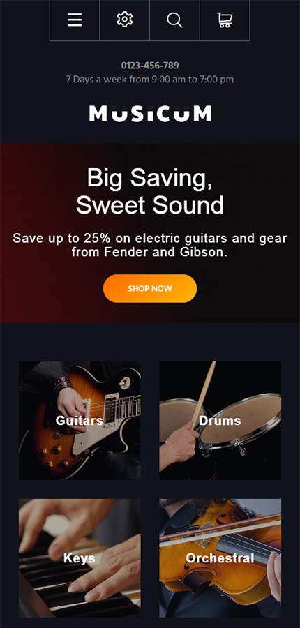 Music website inspirations at your coffee break? Browse for more PrestaShop #templates! // Regular price: $139 // Sources available: .PSD, .PHP, .TPL #Music #PrestaShop