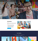 Bootstrap template 64889 - Buy this design now for only $14