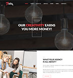 Wordpress template 64921 - Buy this design now for only $75