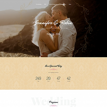 Landing Page Template # 64956