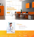Coworking Center Joomla Template