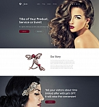 Jewelry Landing Page Template