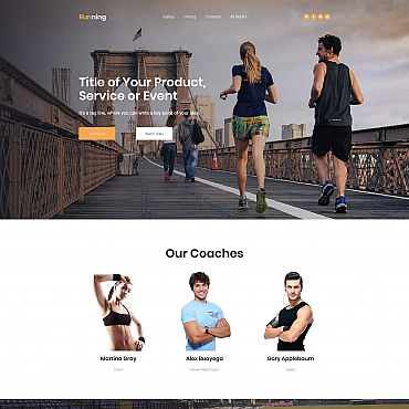 Landing Page Template # 65024