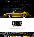 Car Services Landing Page Template