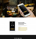 Application Presentation Landing Page Template