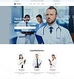 Medical Center Landing Page Template