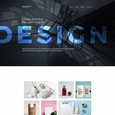 Landing Page Template # 65031