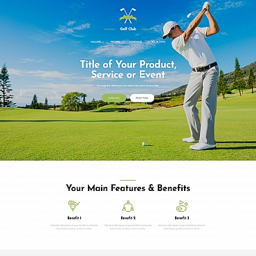 Landing Page Template # 65038