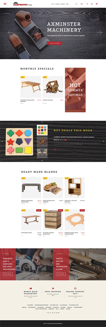 Interior & Furniture website inspirations at your coffee break? Browse for more PrestaShop #templates! // Regular price: $139 // Sources available: .PSD, .PHP, .TPL #Interior & Furniture #PrestaShop