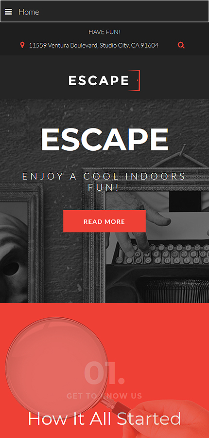 Entertainment website inspirations at your coffee break? Browse for more Joomla #templates! // Regular price: $75 // Sources available: .PSD, .PHP #Entertainment #Joomla