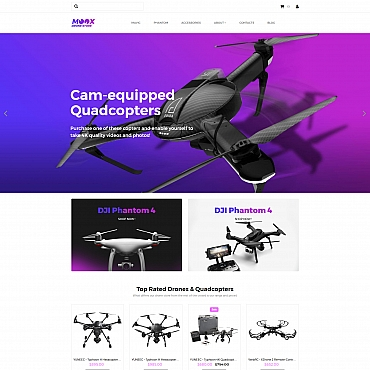 MotoCMS Ecommerce Template # 65052
