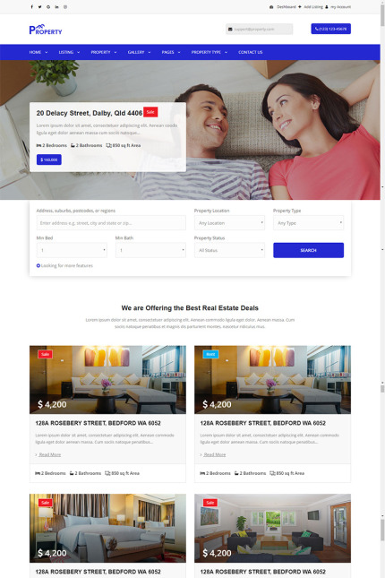 Real Estate Most Popular website inspirations at your coffee break? Browse for more Vendors #templates! // Regular price: $72 // Sources available: #Real Estate #Most Popular #Vendors