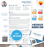 Moto cms cv template 65234 - Buy this design now for only $17