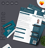 Moto cms cv template 65237 - Buy this design now for only $17