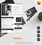 Moto cms cv template 65238 - Buy this design now for only $17