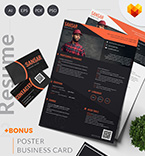 Moto cms cv template 65239 - Buy this design now for only $17