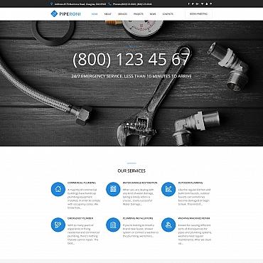 Moto CMS HTML Template # 65268